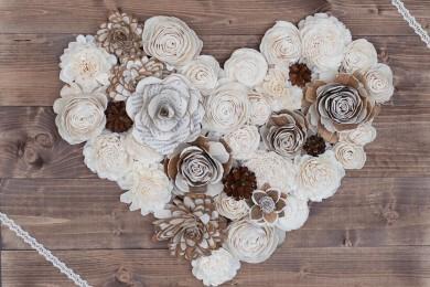 True Heart Wood Panel