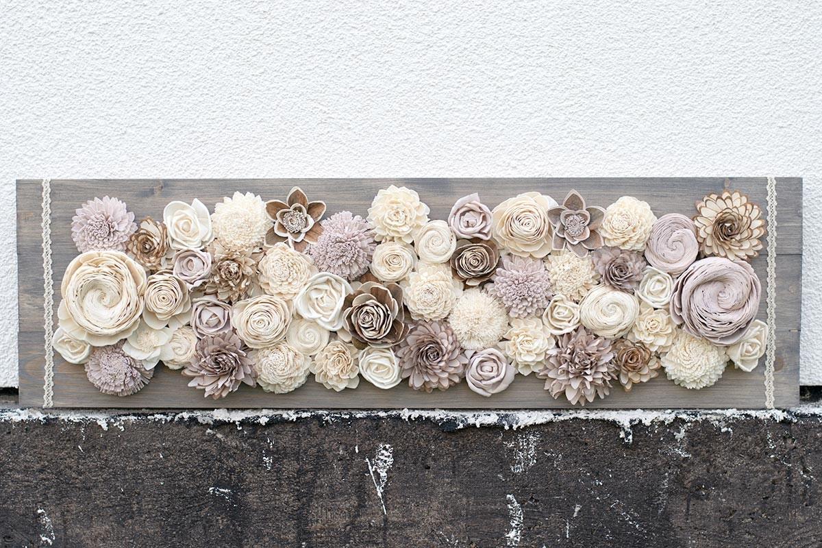 Flower Parade Wood Panel