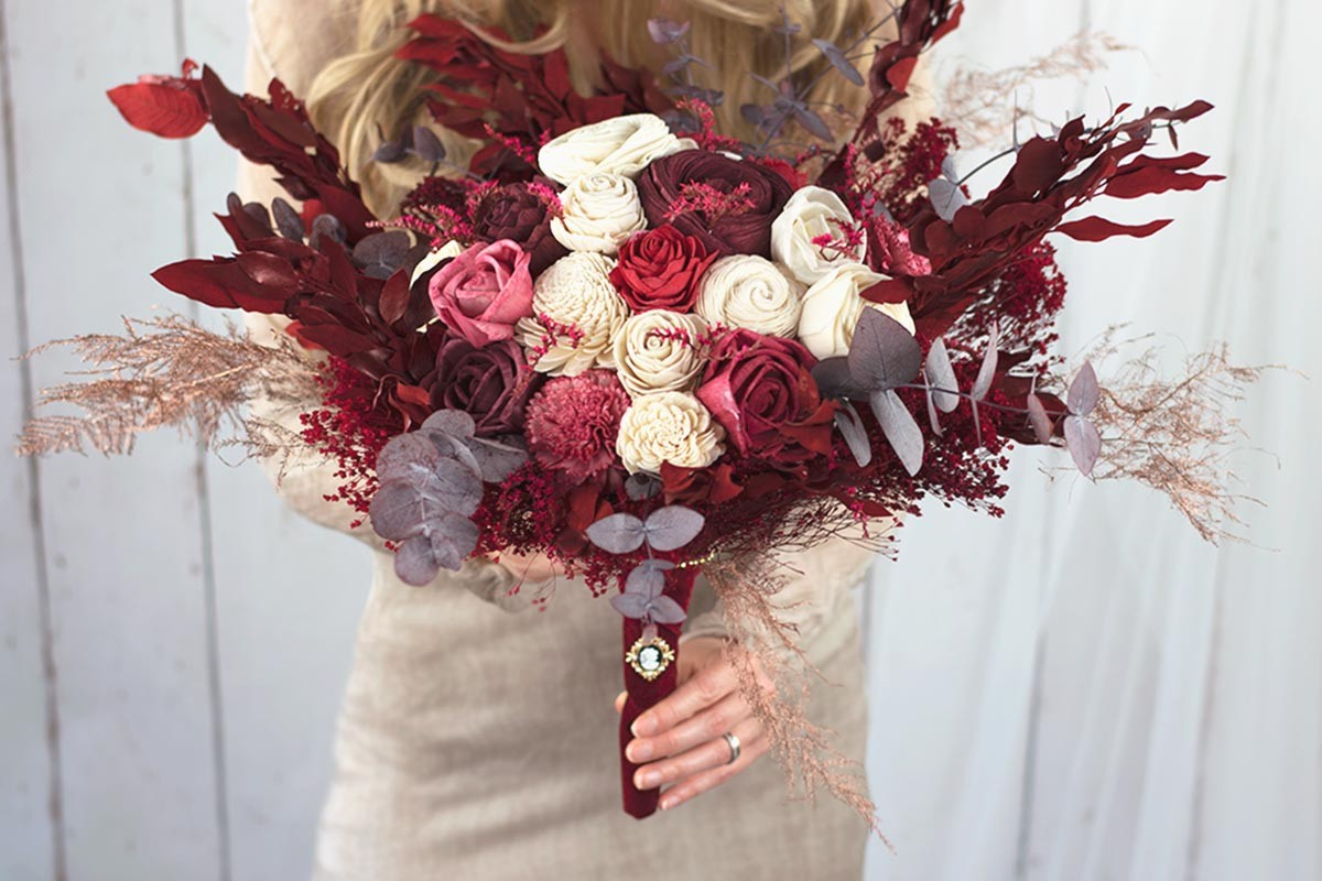 FLORAL COUNTESS-RED